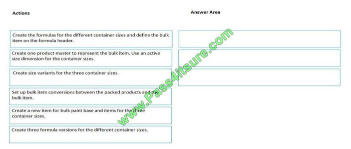 Pass4itsure Microsoft MB-320 exam questions q10