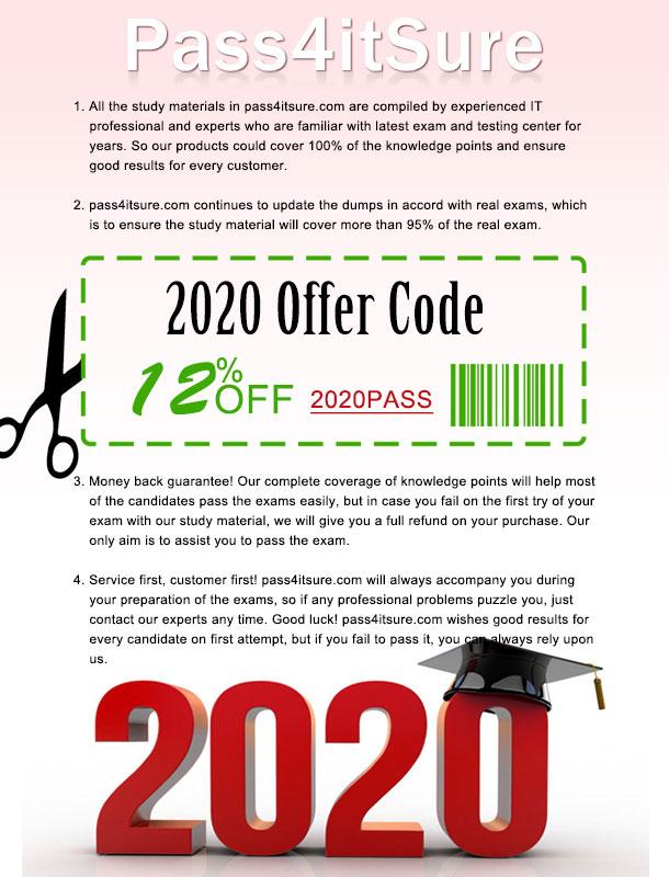 Pass4itsure Discount Code